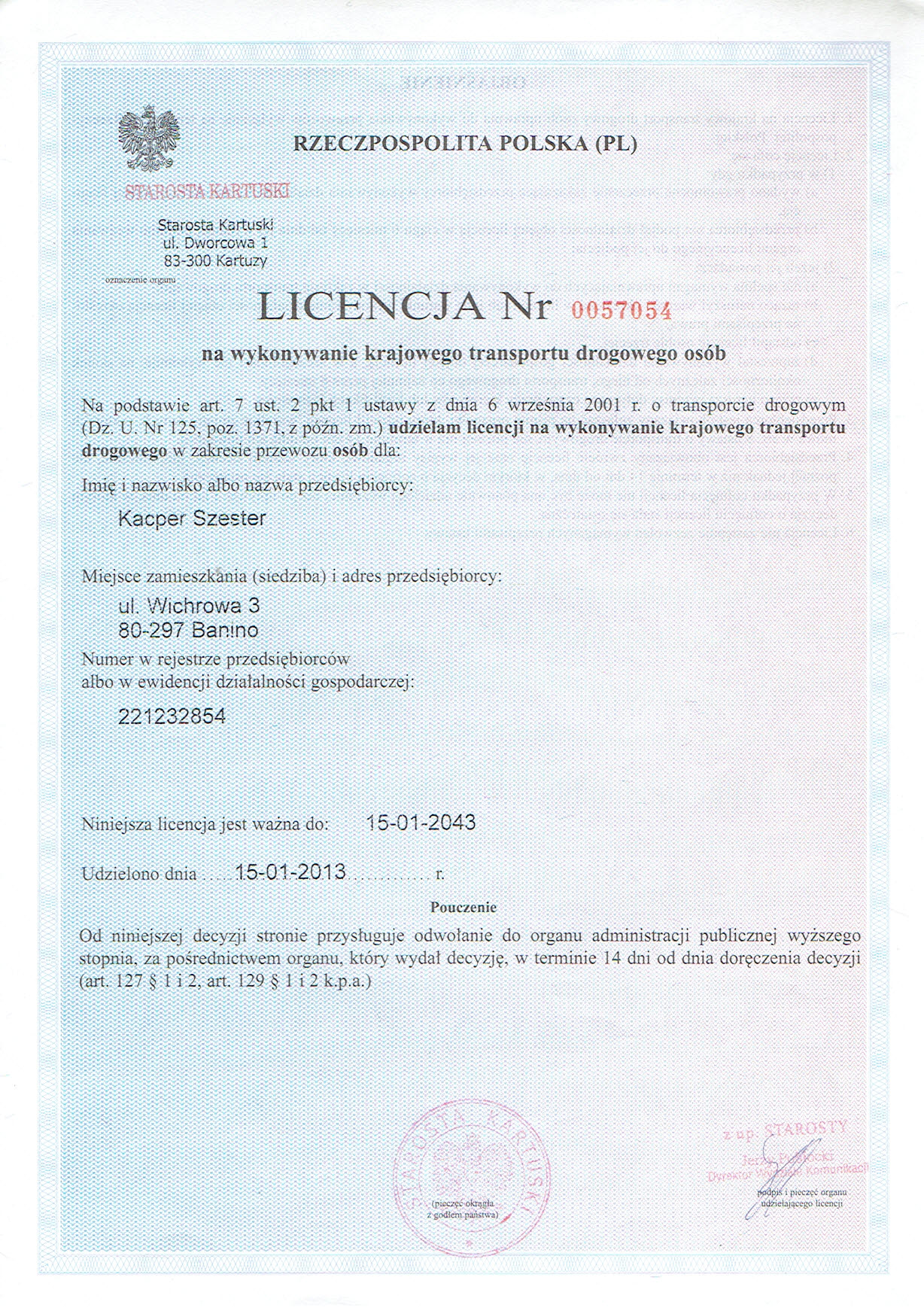 2. Licencja PL